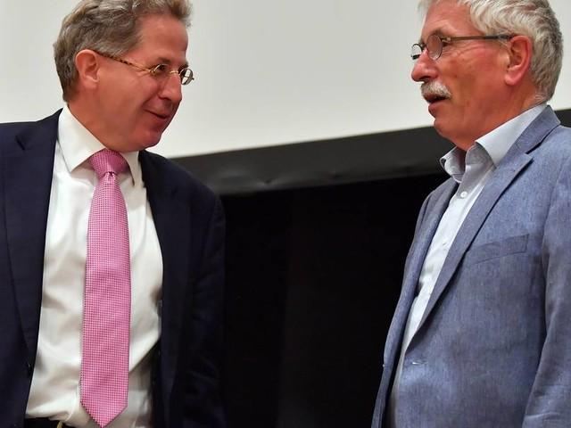 """Bei Treffen mit Sarrazin: Maaßen bezeichnet Umweltpolitiker als """"Klimafanatiker"""""""
