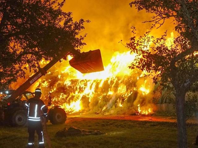 Nach Brandstiftungen: Zehn Jahre Haft für Feuerwehrmann