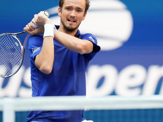 Medwedew zog zum zweiten Mal ins Finale der US Open ein