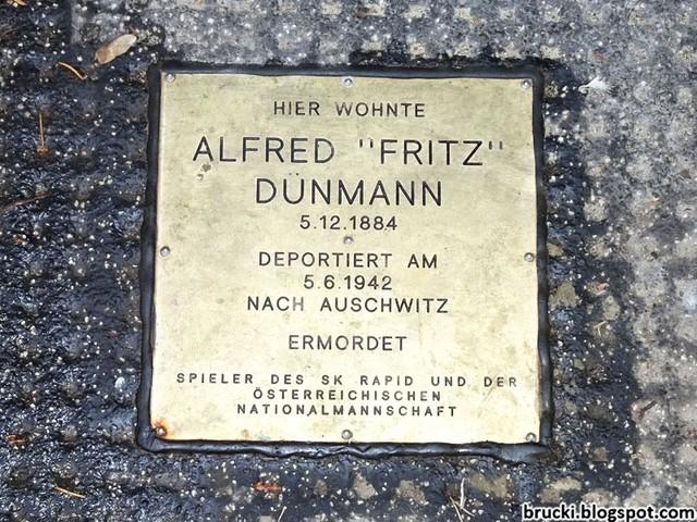 Stein der Erinnerung für Fritz Dünmann