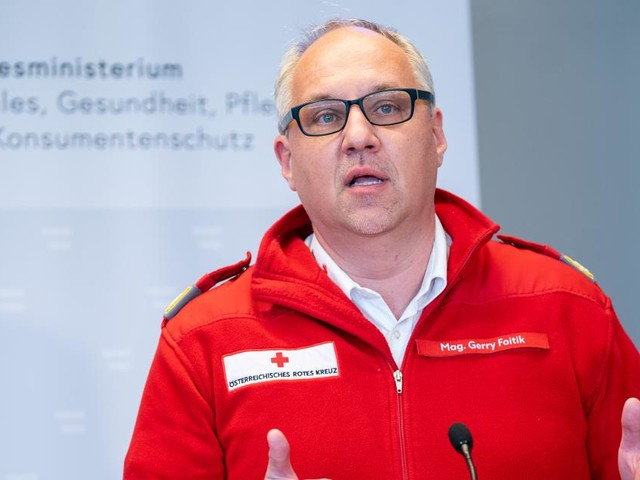 Rot-Kreuz-Chef Foitik kritisiert Versäumnisse bei Impfkampagne