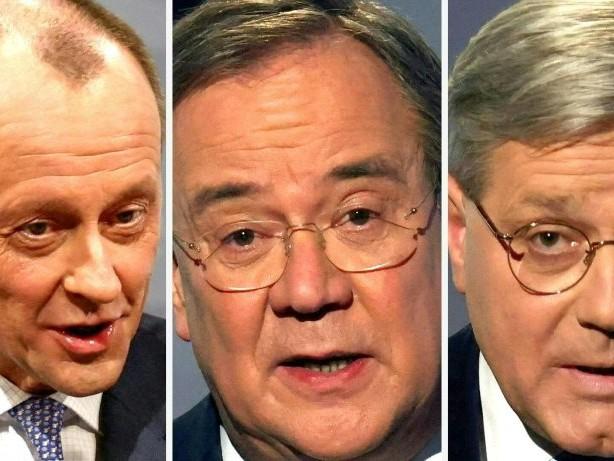 Wer wird CDU-Chef? Die drei Kandidaten im Überblick