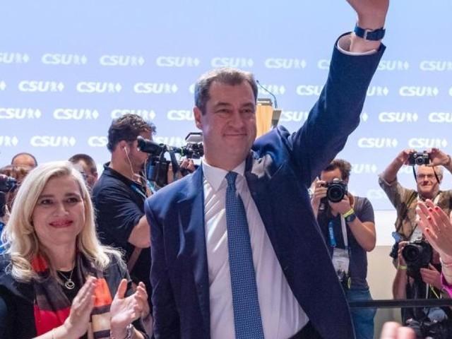 CSU gibt Söder Rückenwind: Wiederwahl mit 91,3 Prozent