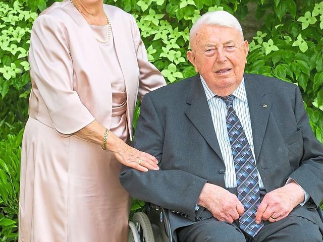 Seit 60 Jahren ein glückliches Paar