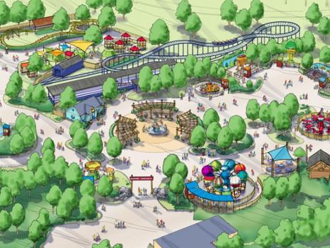 """Carowinds kündigt """"Camp Snoopy"""" für 2018 an: Erweiteter Kinderbereich mit sechs Attraktionen"""