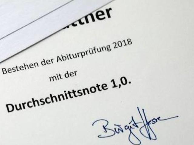 Immer mehr Einser-Abis in Deutschland