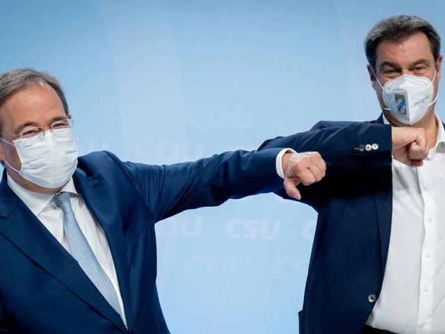 Im Kuschelkurs ins Kanzleramt: Söder und Laschet finden neue Arbeitsteilung - Kritiker wittern Mogelpackung