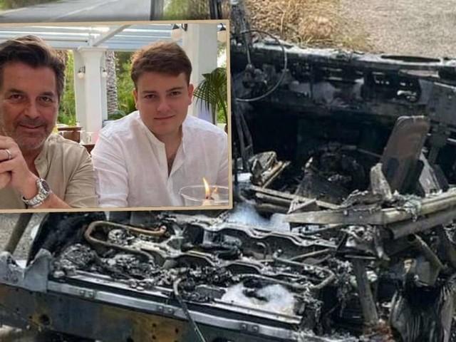 Großer Schock für Schlagerstar Thomas Anders (58): Land Rover brennt im Ibiza-Urlaub komplett aus