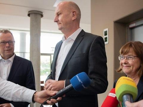 Woche der Entscheidung über Koalition in Brandenburg
