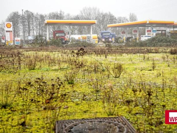 Verkehr: Kamp-Lintfort: Pläne für Lkw-Parkplatz hinter Tankstelle