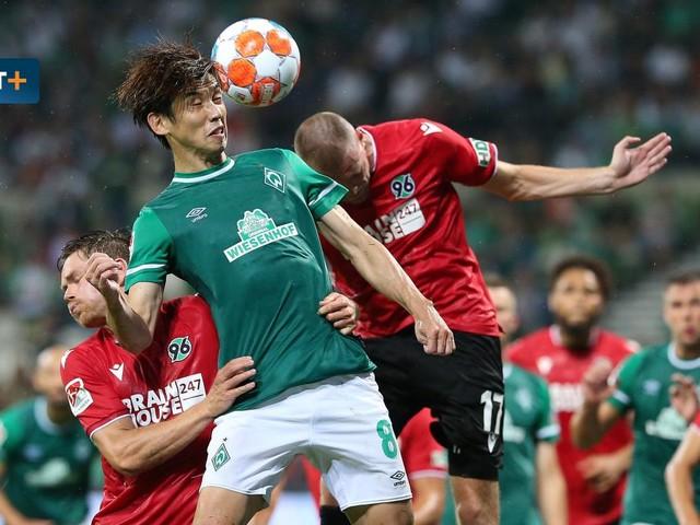 Werder Bremen gegen Hannover 96 – Die Highlights im Video