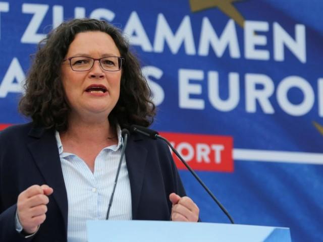 Deutschland: Große Koalition abgestraft, Nahles in Not