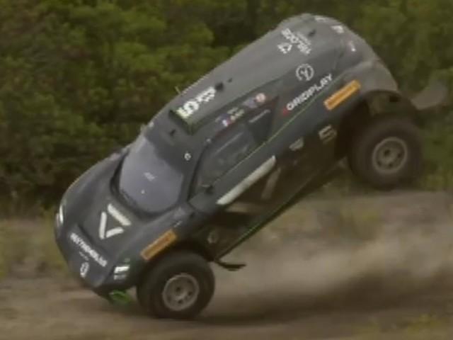 Extreme E: Sardinien Extremer Überschlag, Rosberg siegt, Abt-Cupra auf dem Podium