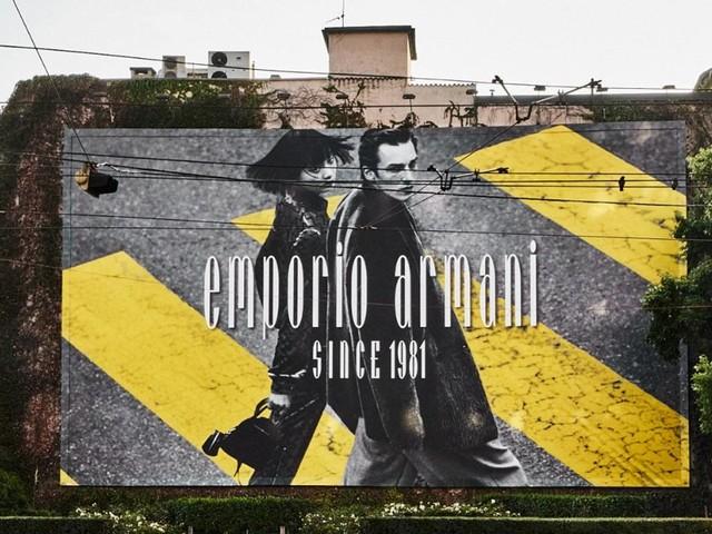 Armani kuratiert Ausstellung zum 40-jährigen Jubiläum von Emporio Armani