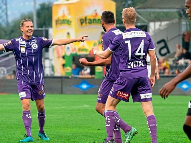 Altach geht daheim gegen Klagenfurt unter