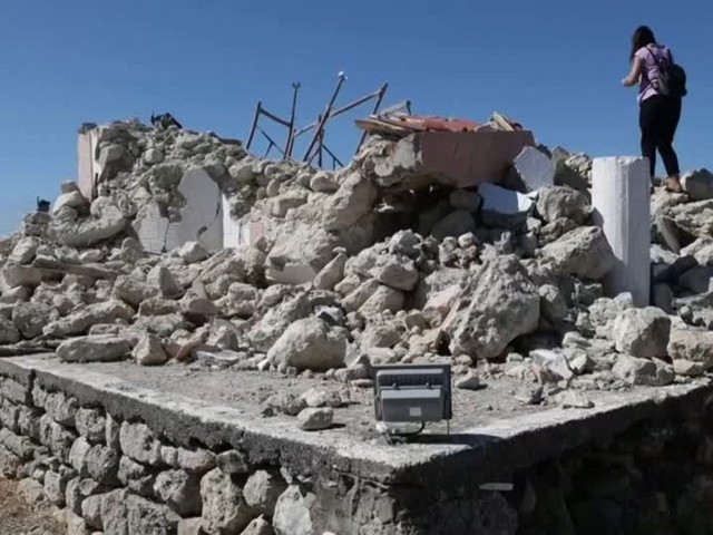 Video: Schweres Erdbeben auf Kreta