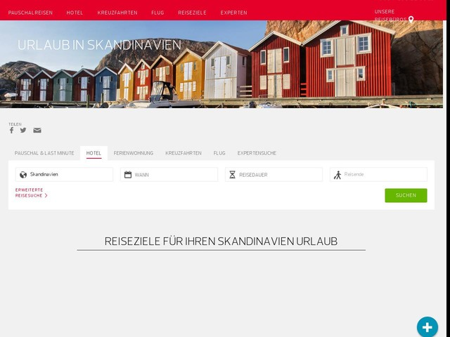 Skandinavien Urlaub günstig online Buchen | DER.COM
