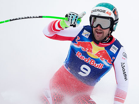 Ski Alpin: Kitzbühel-Abfahrt: Kriechmayr fuhr mit verstauchter Hand auf Platz zwei