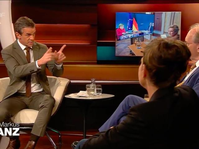 """Lanz nimmt Journalistin in die Mangel: """"Nicht ablenken, Frau Rosenfeld"""""""