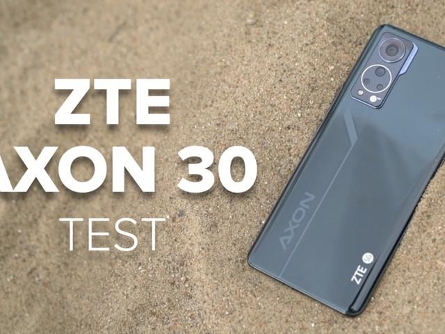 ZTE Axon 30: Riesen-Display und versteckte Kamera