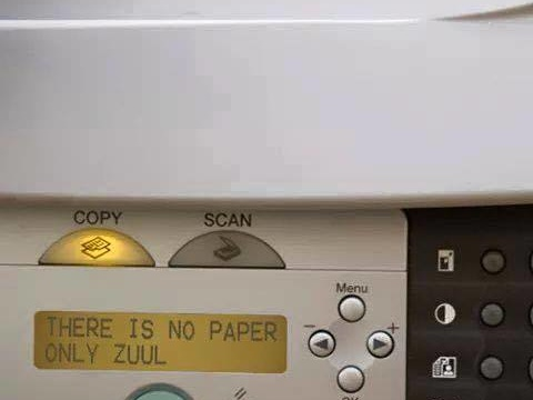 There is no paper, only Zuul