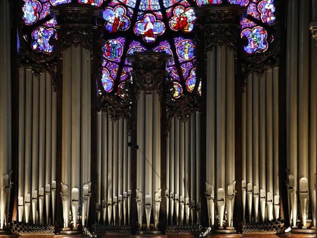 Wie durch ein Wunder stieg die Temperatur in der Orgel kaum über 18 Grad