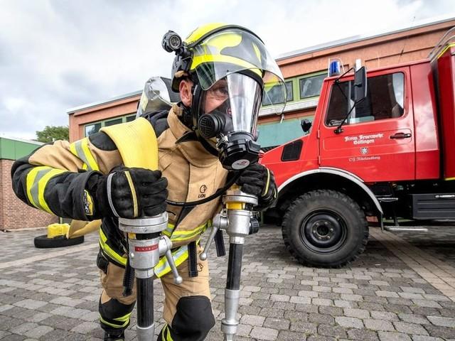 Europameisterschaft:Suche nach dem fittesten Feuerwehrmann
