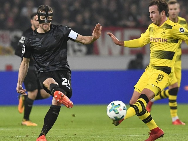 Bundesliga: VfB gegen BVB: Die Roten schlagen Borussia Dortmund