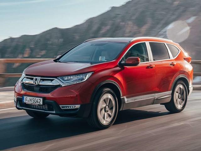 Der neue Honda CR-V bietet viel Platz auf 4,6 Meter Länge