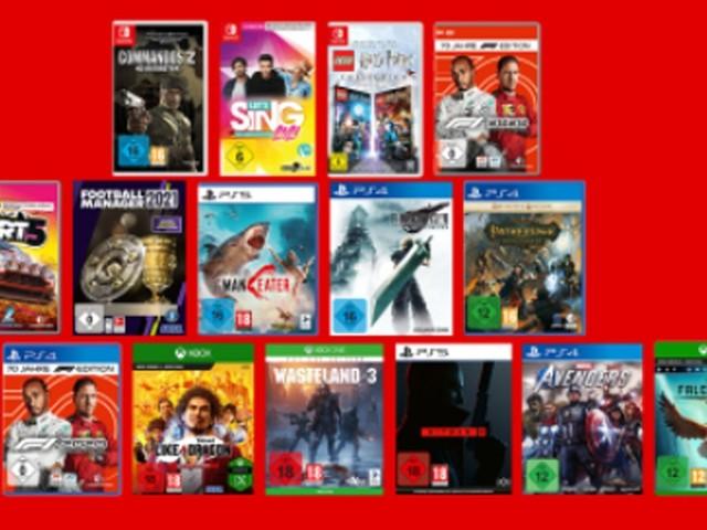 Anzeige: 13 Sentinals: Aegis Rim auf PS4 oder Dirt 5 (div. Systeme) für jeweils 26,99 Euro - die besten Gaming-Deals bei Saturn und MediaMarkt