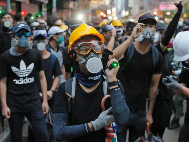 Proteste in Hongkong: Zehntausende demonstrieren trotz Warnungen aus Peking
