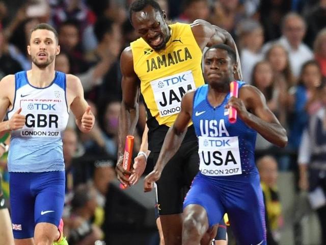 WM-Drama zum Abschied: Usain Bolt stürzt in die Rente