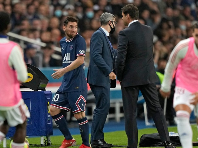 """""""Sein Gesicht sagte alles"""": Motzender Messi kassiert Ansage vom Trainer"""