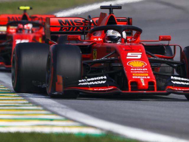 """Formel 1 in Brasilien: Sebastian Vettel wütet nach Crash mit Leclerc: """"So ein Bockmist aber auch!"""""""