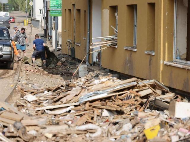 Flutkatastrophe: In den Katastrophengebieten droht neuer Starkregen