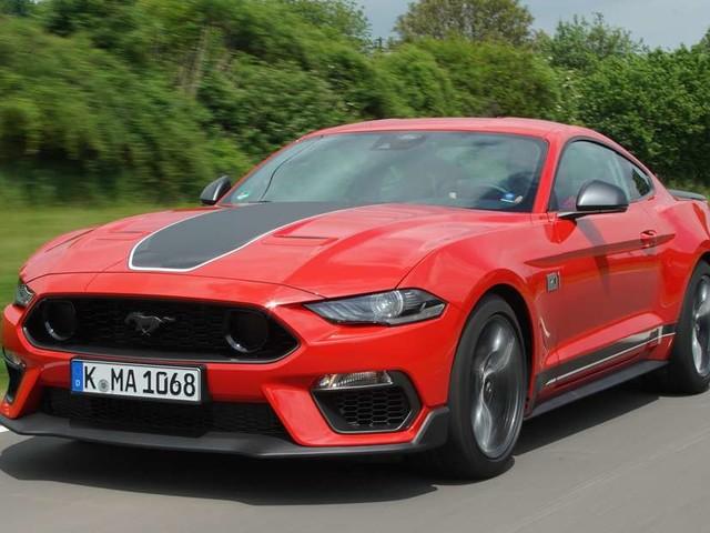 Ford Mustang Mach 1 im Fahrtest: Nur der Schall ist schneller