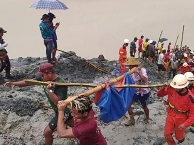 Tödliches Minen-Unglück: 126 Menschen sterben in Myanmar