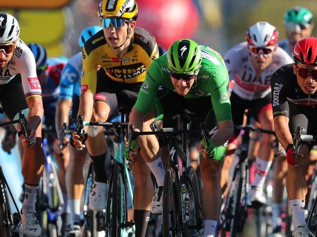 Tour de France: Caleb Ewan gewinnt, Mühlberger muss aufgeben