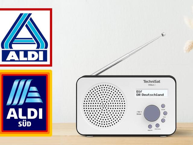 DAB+ im Discounter-Deal: Kompaktes Akku-Radio bei Aldi