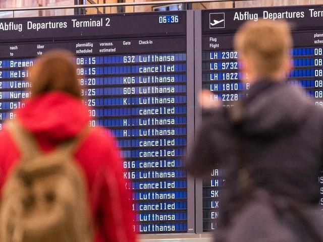 Fluggesellschaft: Weitere Flugausfälle bei Lufthansa nach Streik-Ende erwartet