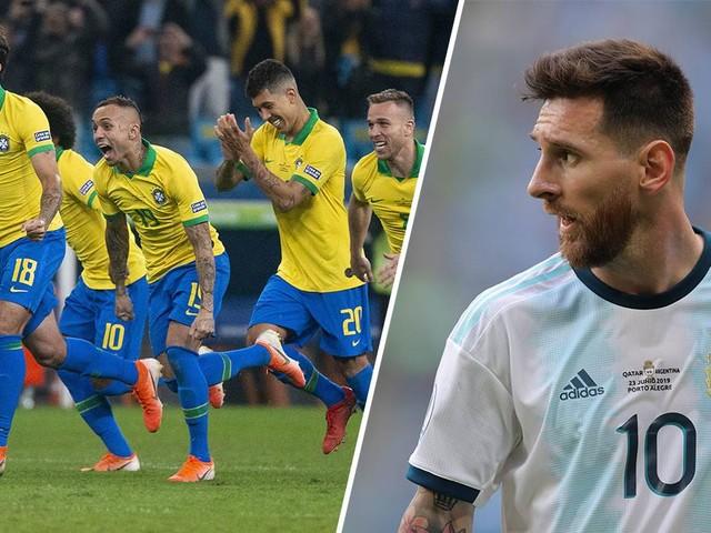 Traum-Halbfinale Brasilien gegen Argentinien perfekt
