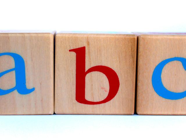 Buchstaben formen