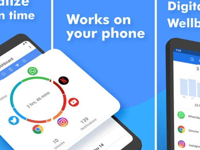 "App - Action Dash: ""Digital Wellbeing"" für alle Android-Smartphones"