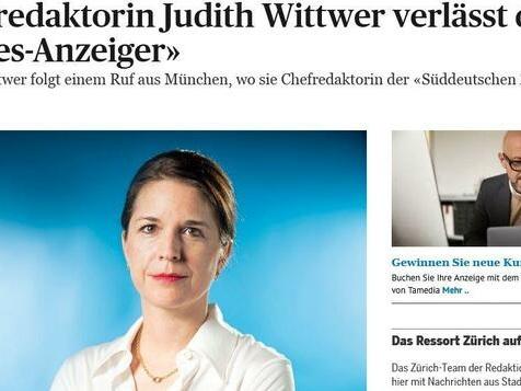 Judith Wittwer wechselt von der Schweiz nach München