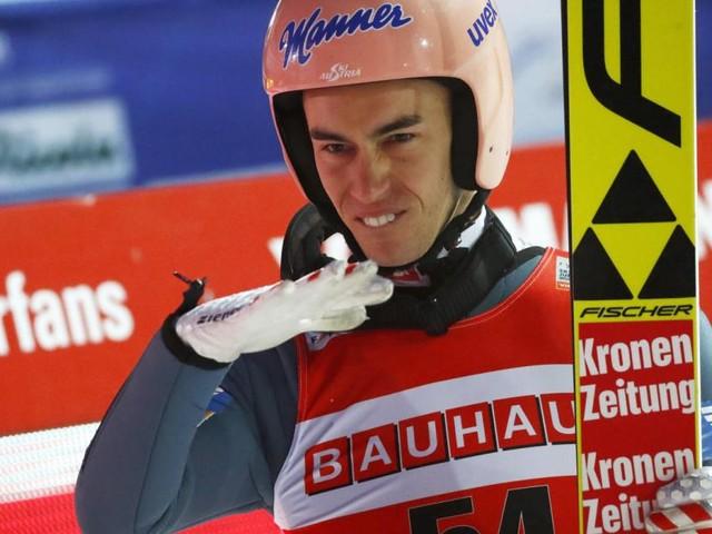 Stefan Kraft Dritter beim Skifliegen in Oberstdorf