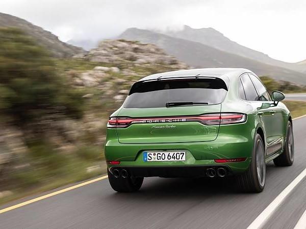 Porsche Macan Turbo: Nachzügler