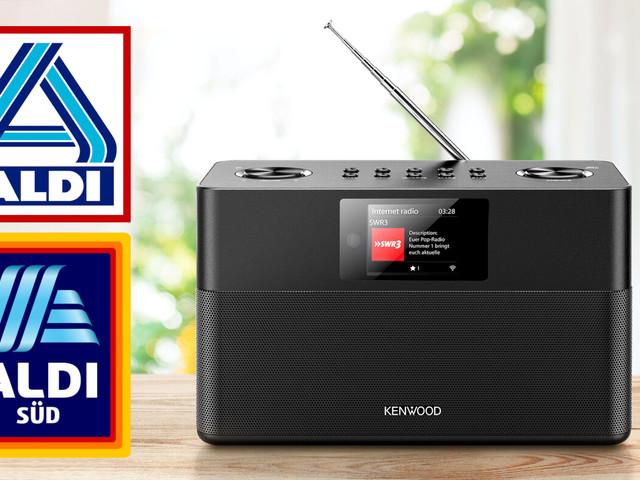 Kenwood Smart Radio im Angebot: DAB+-Marken-Radio bei Aldi