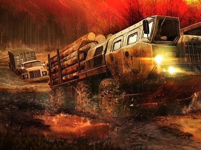 """Spintires: MudRunner - """"Ultimative Version"""" von Spintires für PC, PS4 und Xbox One"""