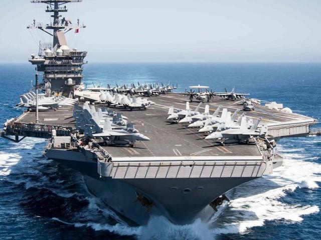 Spannungen zwischen China und USA wegen amerikanischem Flugzeugträger