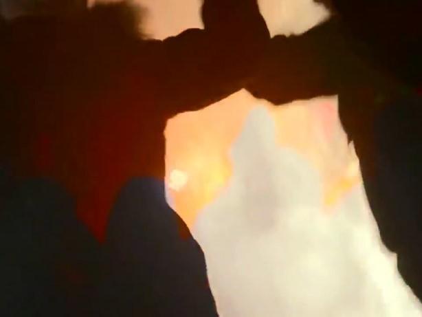"""Pferde in Flammen: Spanische Gläubige feiern """"Las Luminarias"""""""